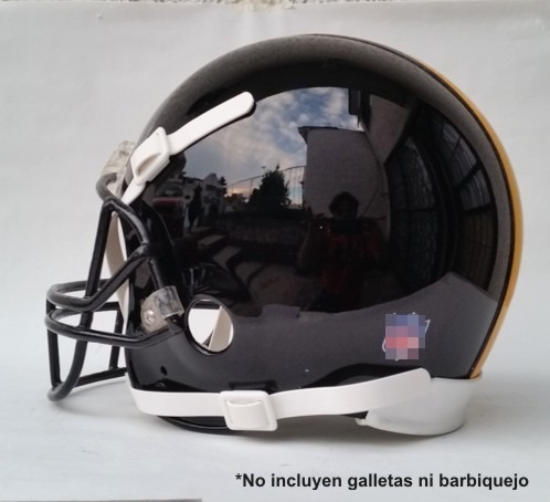 casco pintado de acereros pittsburgh (casco restaurado)