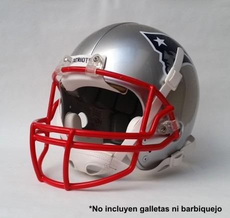 casco pintado patriotas de nueva ing (casco restaurado)