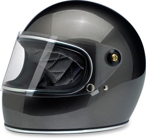 casco p/motocicleta biltwell gringo sólido bronce metálic xl