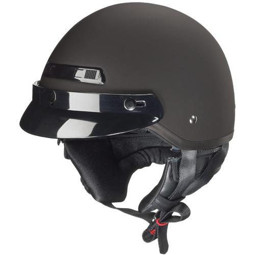 casco p/motocicleta zox banos stg liso negro mate 2xl