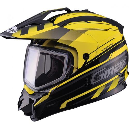 casco p/motonieve gmax gm11 trekka negro/amarillo xs