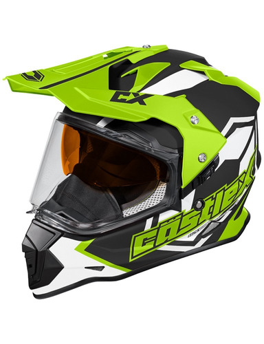 casco p/nieve castle mode sv team dual deportivo visible xl