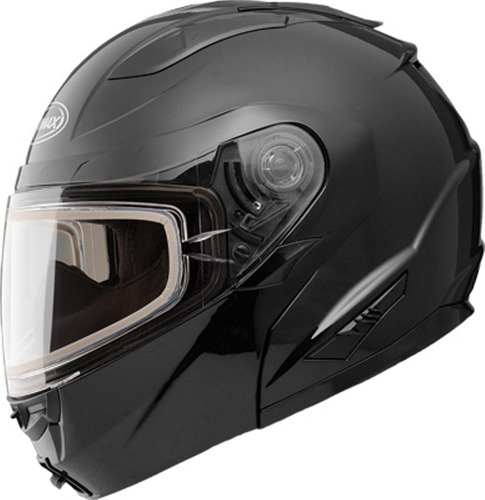 casco p/nieve gmax gm64s sólido rostro completo modular xs