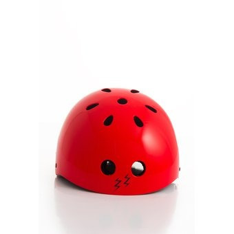 casco pro-tech liso zoom rojo
