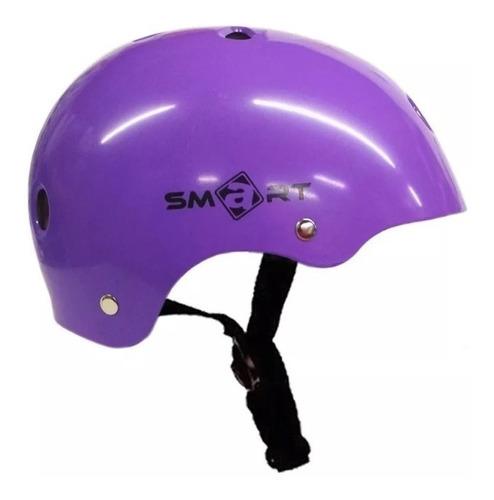 casco proteccion smart bicicletas skate roller - star cicles