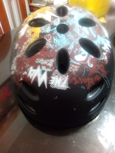 casco protector bicicleta patines skateboard