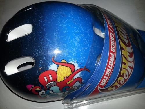 casco protector de hot wheels para niños marca sonata
