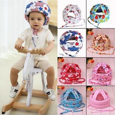 casco protector de seguridad antigolpes bebes
