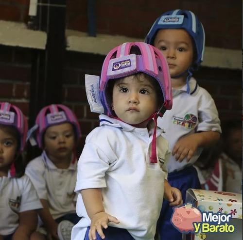 casco protector para bebés anti golpes liviano niños bebe