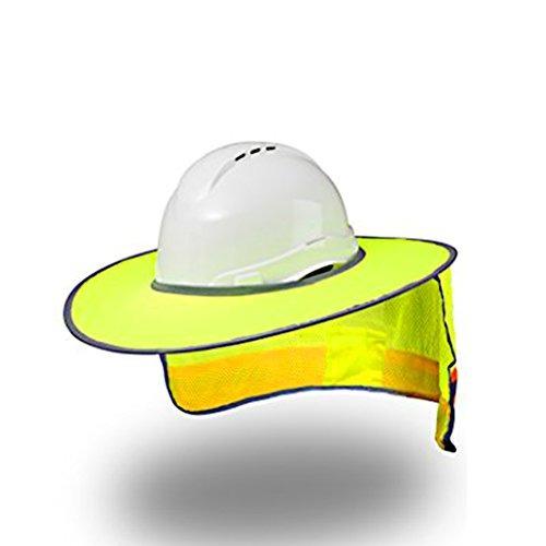casco protector solar sombrero completo malla cuello prot
