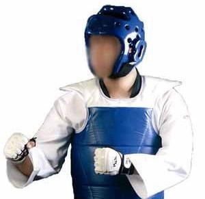 casco protector taekwondo rhingo importado