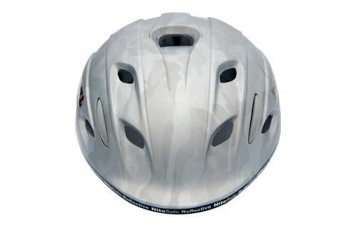 casco prowell w-1000 saka camuflaje plata talle m - nuevo