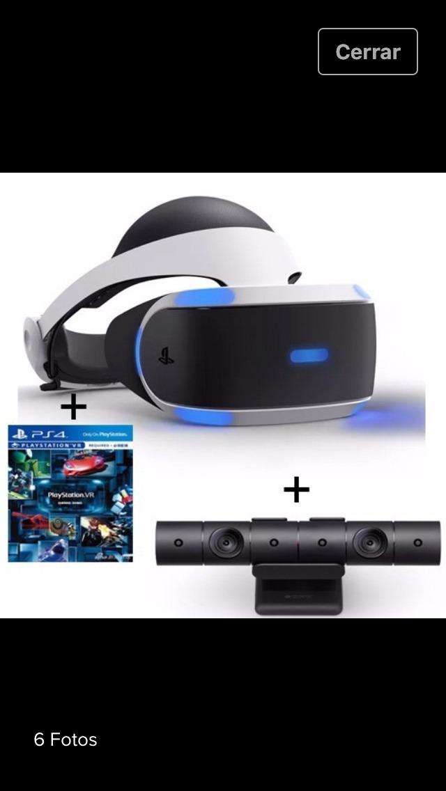Casco Realidad Virtual Ps4 Camara Juego Gran Turismo Spo