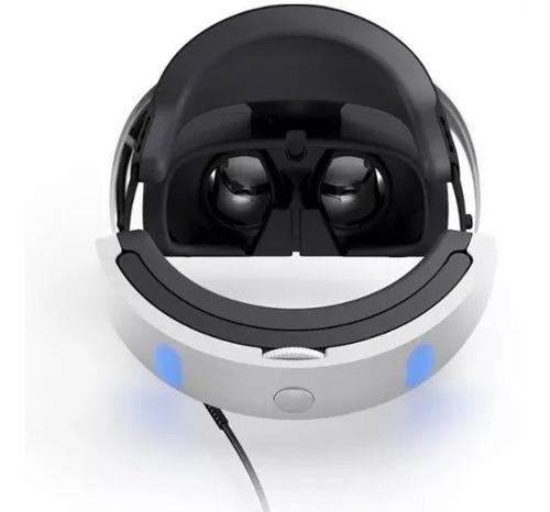 casco realidad virtual sony ps4 vr +cam+moves+3juegos ver.2