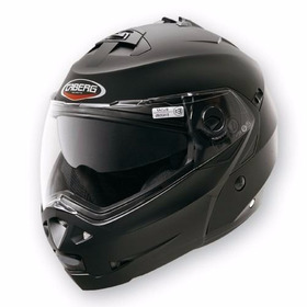 Casco Rebatible Caberg Duke 2 Matt Black Doble Visor.-