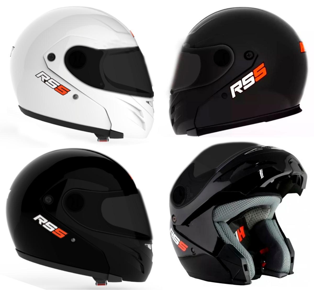 casco rebatible hawk rs5 negro brillo negro mate visor negro. Cargando zoom. 0906cc7cf2d