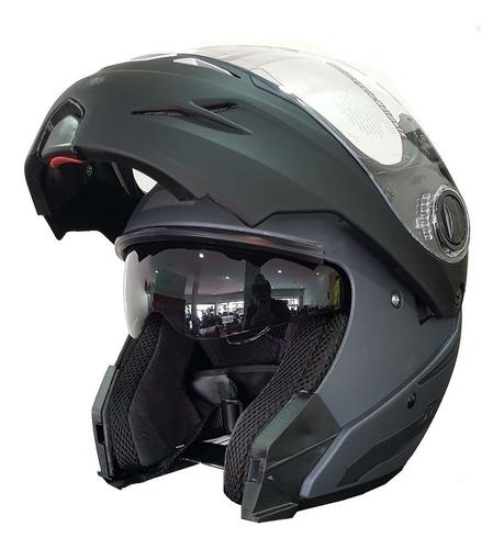 casco rebatible hawk rs5 vector  visor moto devotobikes