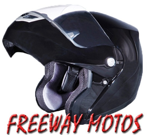 casco rebatible motos