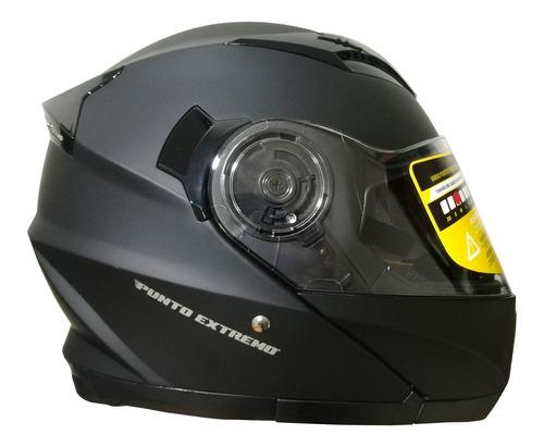casco rebatible punto extremo xr 650 doble visor - cuotas