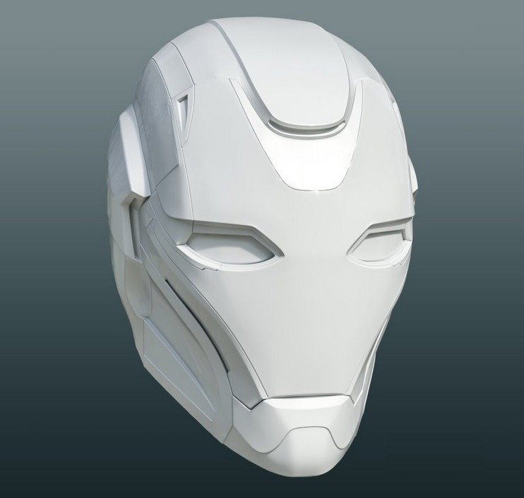 Casco Rescue Mark 49 Pepper Potts Ironman Endgame Cosplay