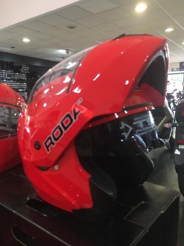 casco roda revenge abatible gafa interna certificado dot