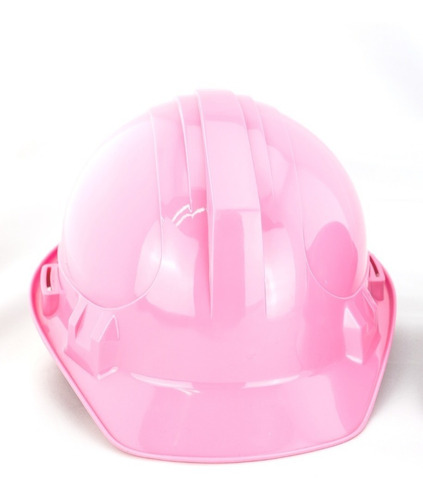 casco rosa de seguridad willson jet-cap 4 pts c/cremallera