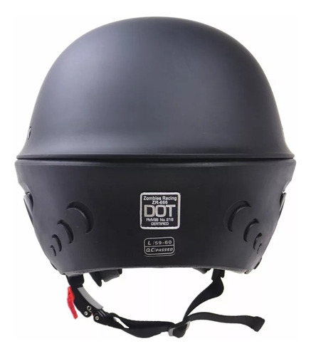 casco rouge dot talla s