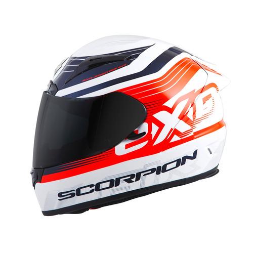 casco scorpion exo-r2000 fortis rostro completo lg