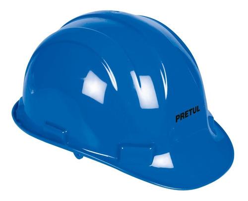 casco seguridad azul pretul 25039