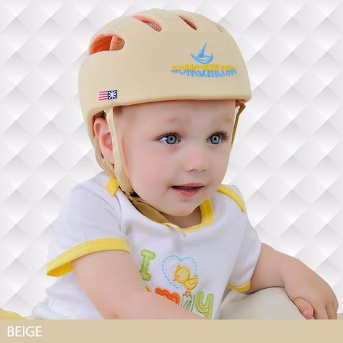 casco seguridad bebe niño niña proteccion caidas ajustable
