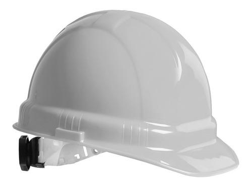 casco seguridad iga ajuste de matraca dieléctrico blanco