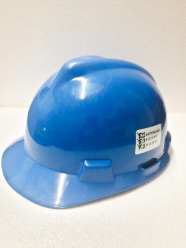 casco seguridad industrial