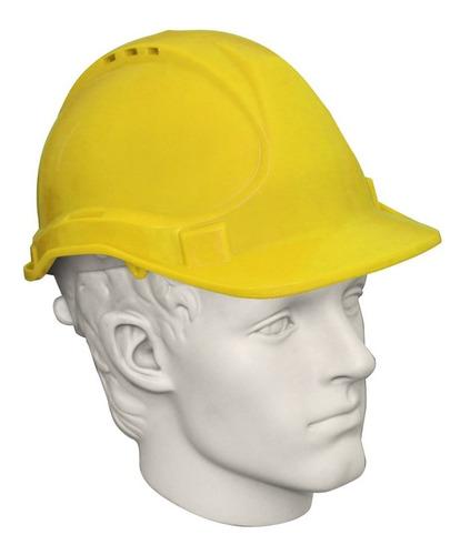 casco seguridad  naranja .,
