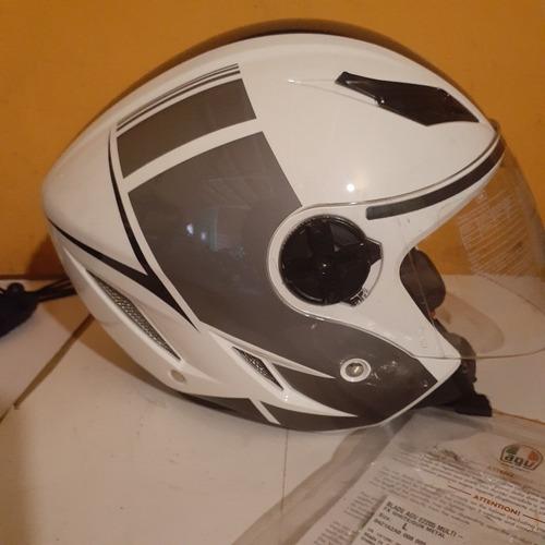 casco semi integral  agv modelo blade