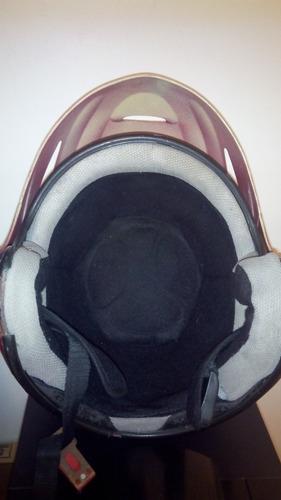 casco semi-integral para moto