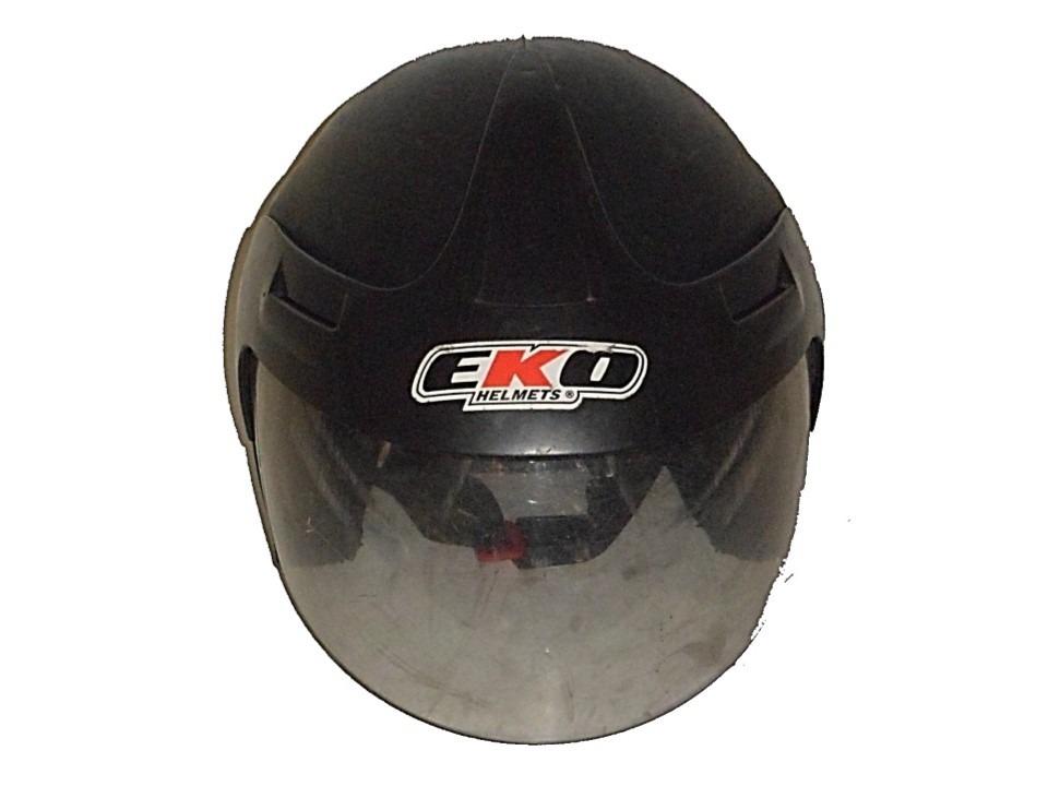 aa58377e8003d casco semi integral para moto marca eko talla s. Cargando zoom.