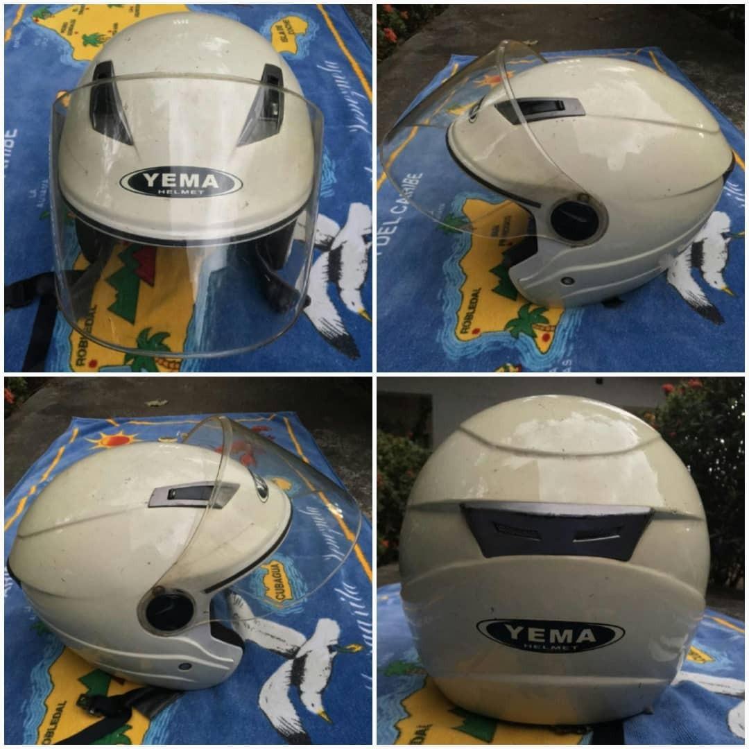 ab2a8706df6f7 Casco Semi Integral Para Moto Talla L - Bs. 70.000