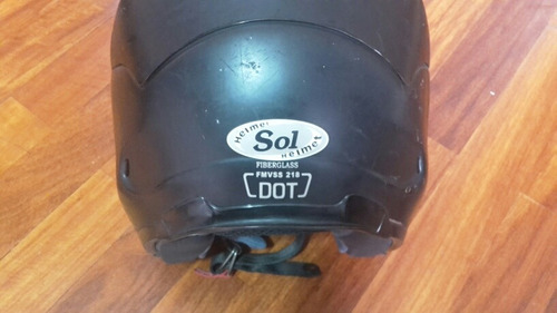 casco semi integral sol helmet certificado dot