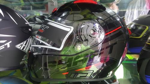 casco shaft 577 doble visor certificado norma europea ece220