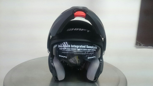 casco shaft abatible doble visor