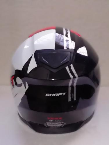 casco shaft cerrado sensei red+ regalos rider one
