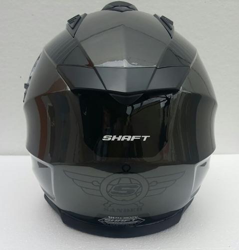 casco shaft cross city sander grey + regalo rider one
