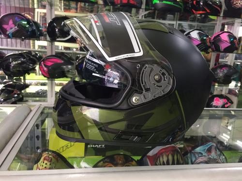 casco shaft doble visor certificacion europea ece-r2205