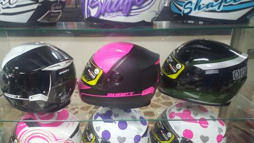 casco shaft doble visor referencia sh-521 nuevo