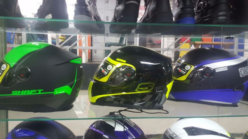 casco shaft doble visor referencia sh-521 nuevo