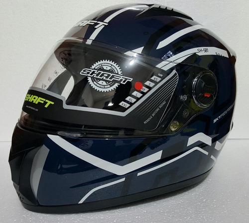 casco shaft varios modelos + regalo rider one