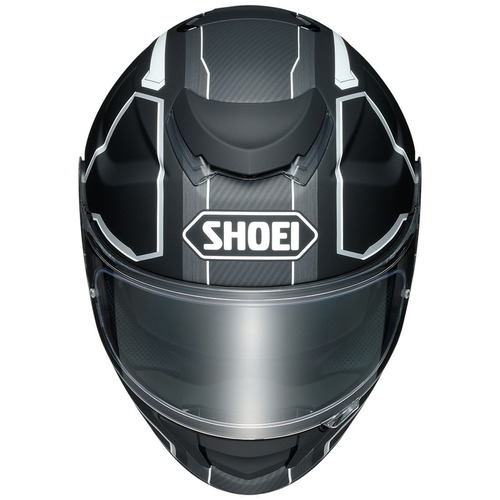 casco shoei gt-air pendulum rostro completo negro md