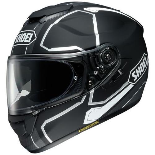casco shoei gt-air pendulum rostro completo negro xl