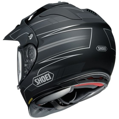casco shoei hornet x2 navigate dual deportivo negro lg