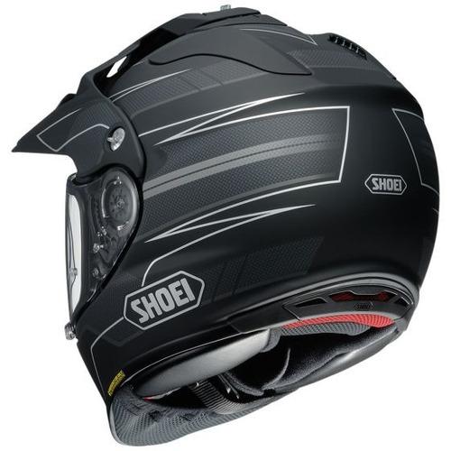 casco shoei hornet x2 navigate dual deportivo negro sm